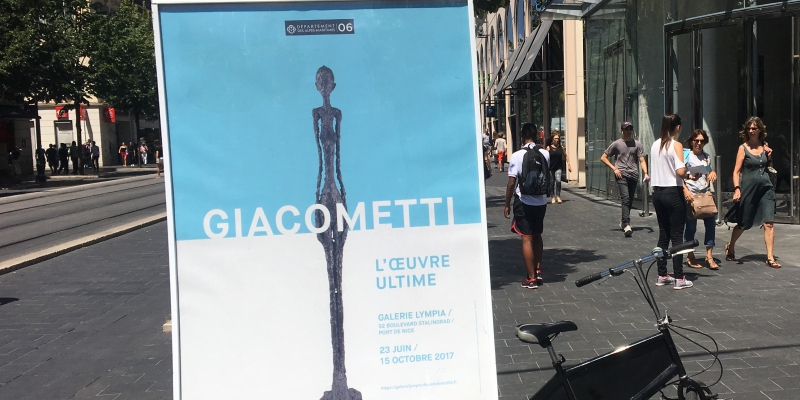 Département 06 « Giacometti – L'oeuvre ultime »