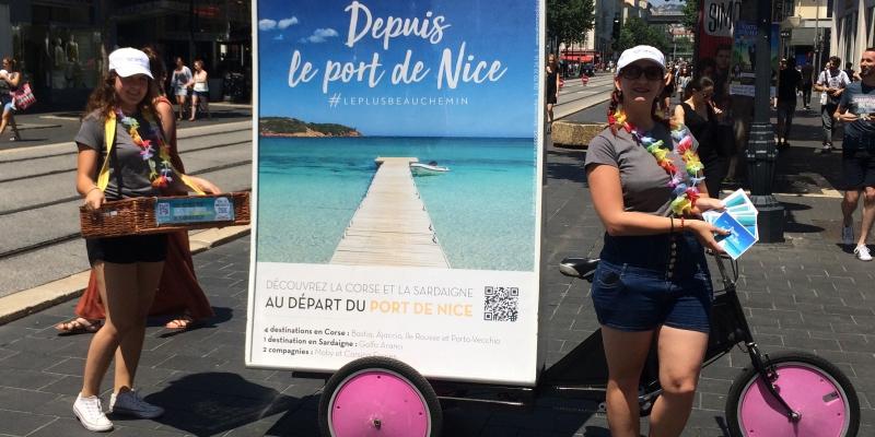 «Le Port de Nice, le plus beau chemin vers la Corse et la Sardaigne !»