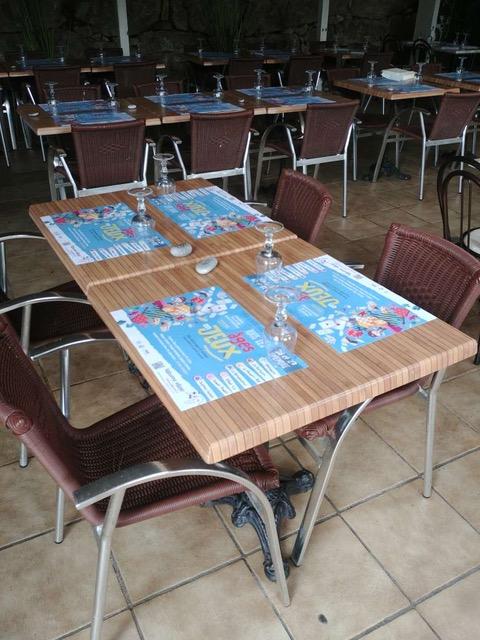set de table restaurant valbonne